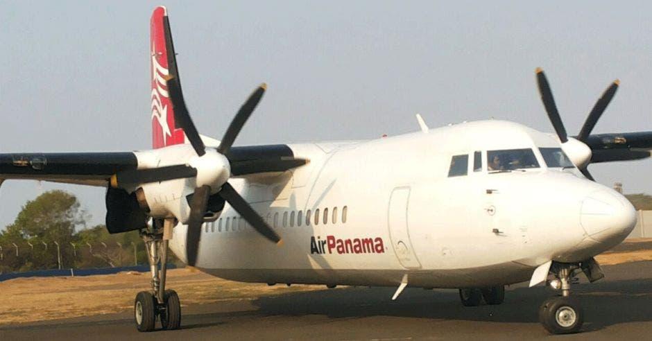 Avión de Air Panamá