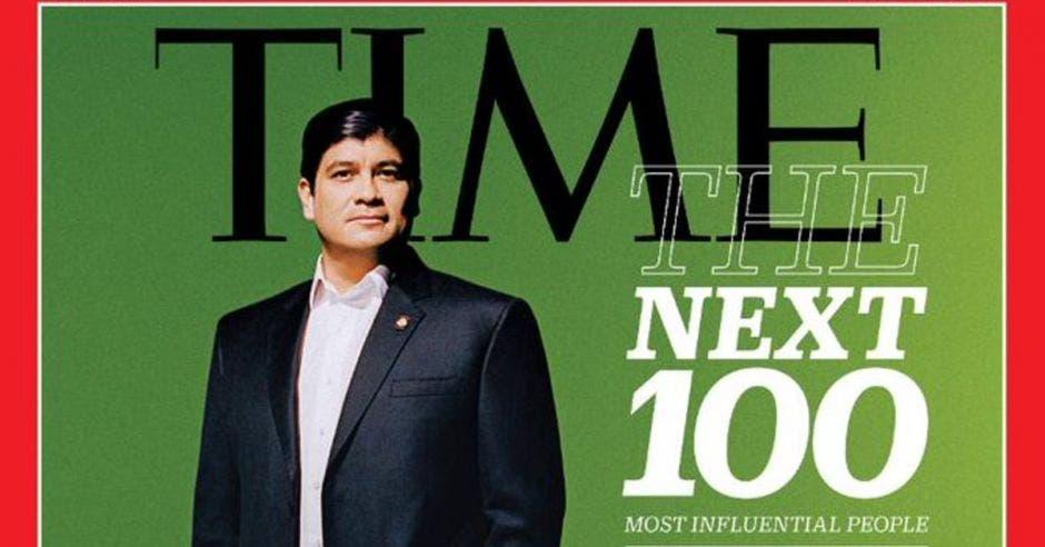 Carlos Alvarado, presidente de Costa Rica. Scandebergs para TIME/La República