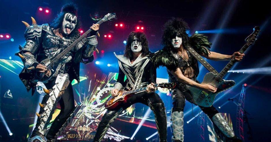 Kiss ha vendido más de 100 millones de álbumes alrededor del mundo. Wikimedia/La República