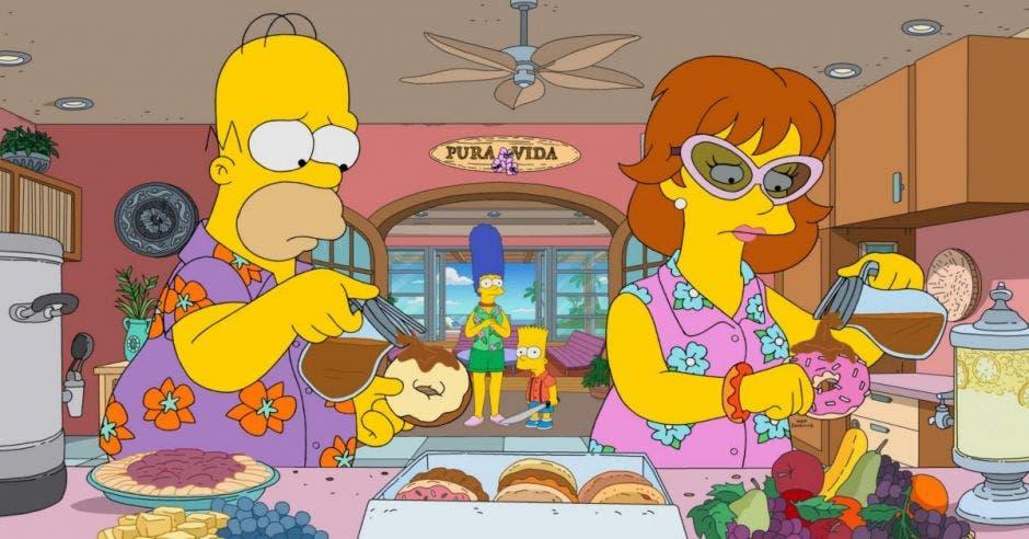 Personajes de la serie Los Simpson