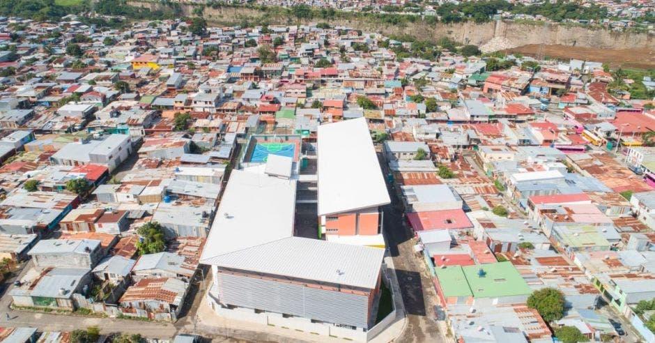 Ciudad La Carpio escuela Finca La Carpio