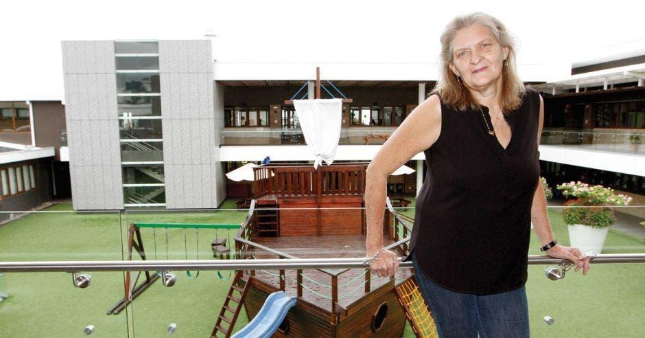 Renée Priess en el Colegio Humboldt