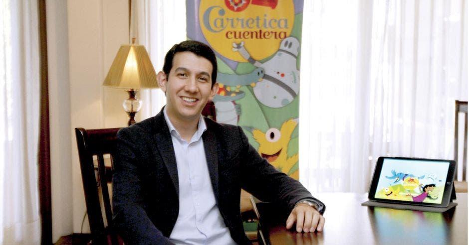 carretica cuentera, Alberto Barrantes, jóvenes