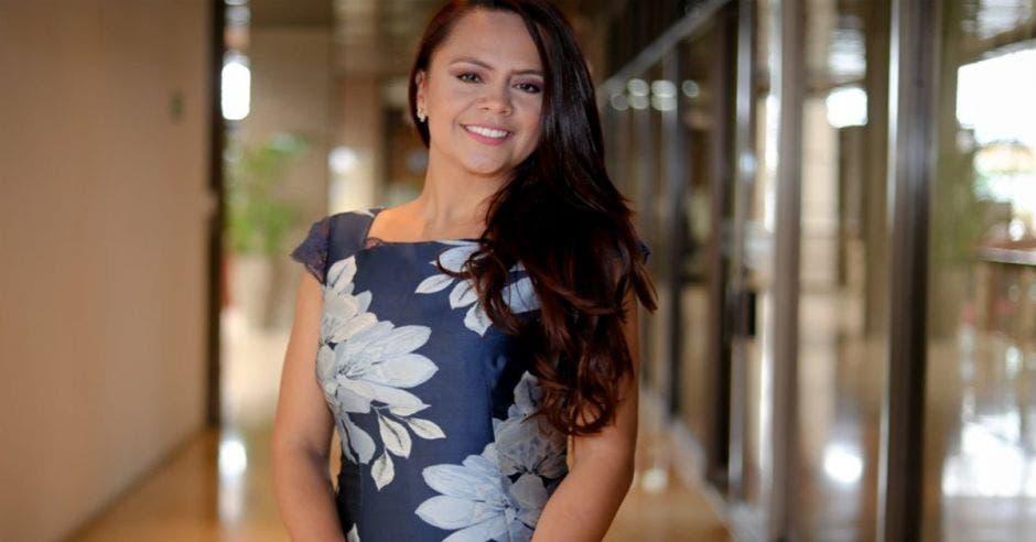 Geannina Dinarte, ministra de Trabajo y Seguridad Social.
