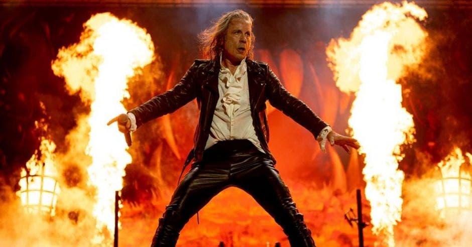 Vocalista de Iron Maiden