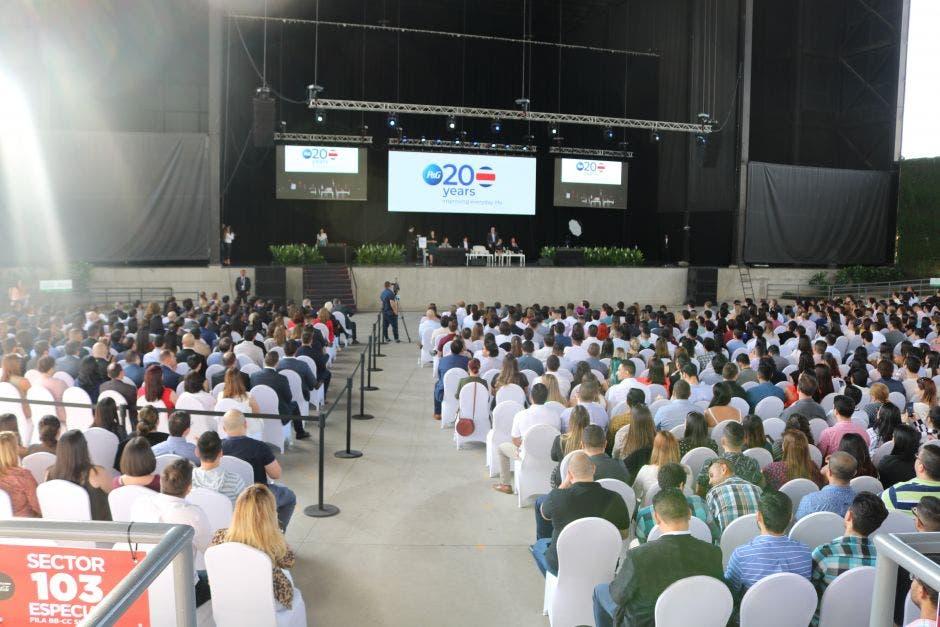 Celebración de los 20 años de P&G en Costa Rica