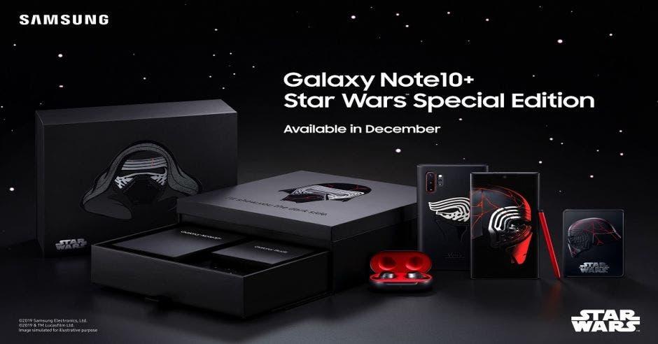 Galaxy Note10+, Starwars