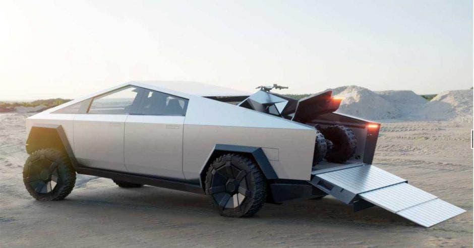 carro futuristico de tesla