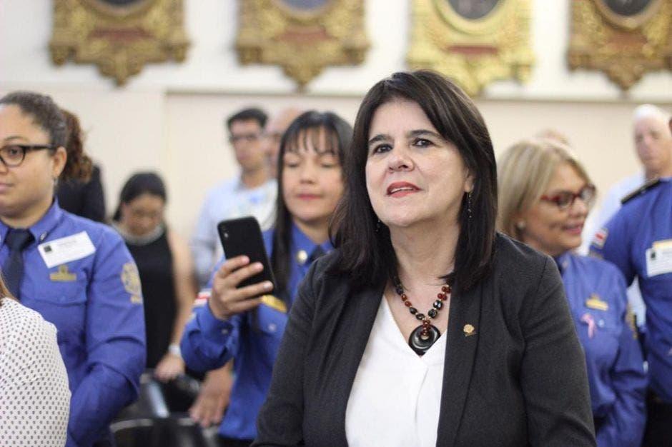 : La legisladora se opuso supuestamente a pagar una propiedad. Cortesía/La República