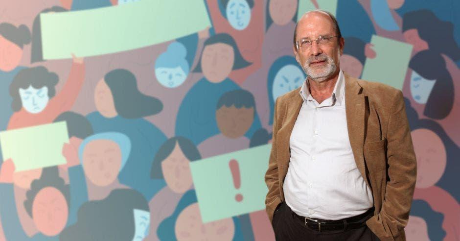 Henning Jensen, rector de la UCR. Archivo/La República