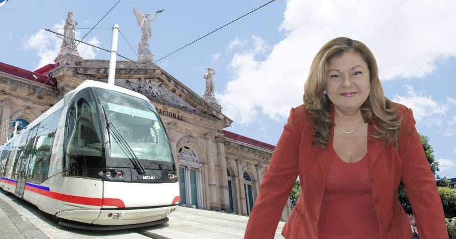 """""""El tren es un proyecto transformador que cambiará la vida de miles de personas en Costa Rica"""", dijo Elizabeth Briceño, presidenta del Incofer. Shutterstock - Archivo/La República."""
