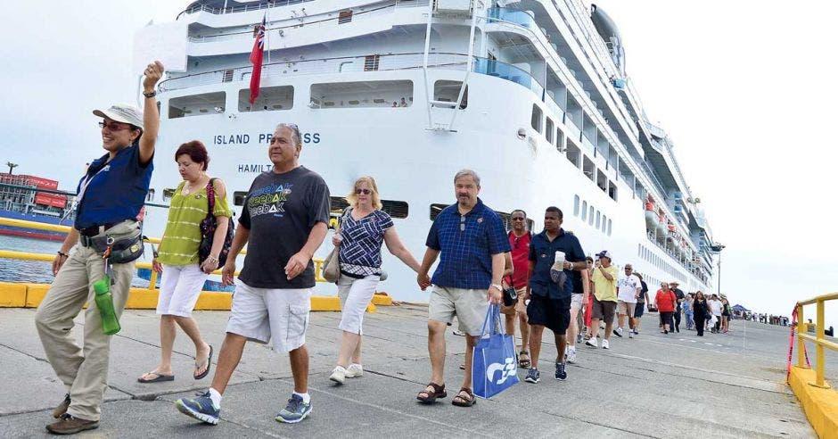Costa Rica tiene la ventaja de ser actualmente el mejor destino para cruceros del istmo. Cortesía ICT/La República