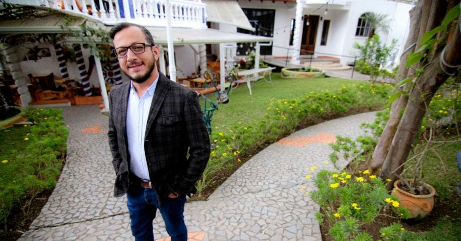Enrique Sánchez, diputado del PAC. Archivo/La República