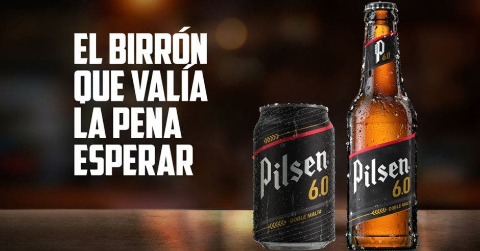 cerveza en lata y botella