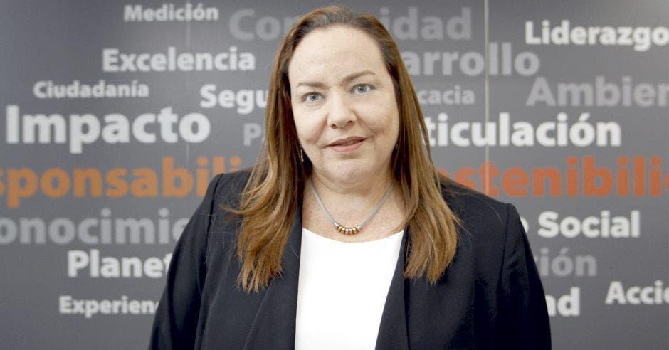 Olga Sauma, directora ejecutiva de la Alianza Empresarial para el Desarrollo