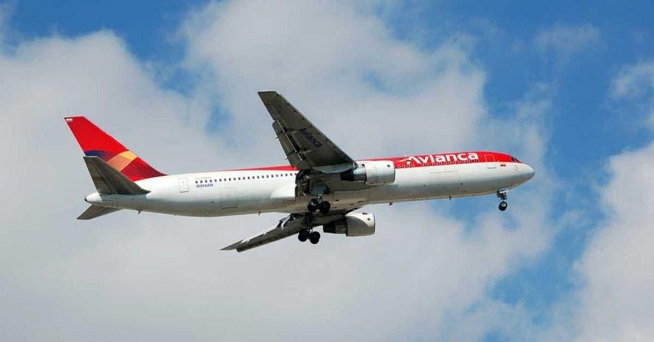 Un avión de Avianca