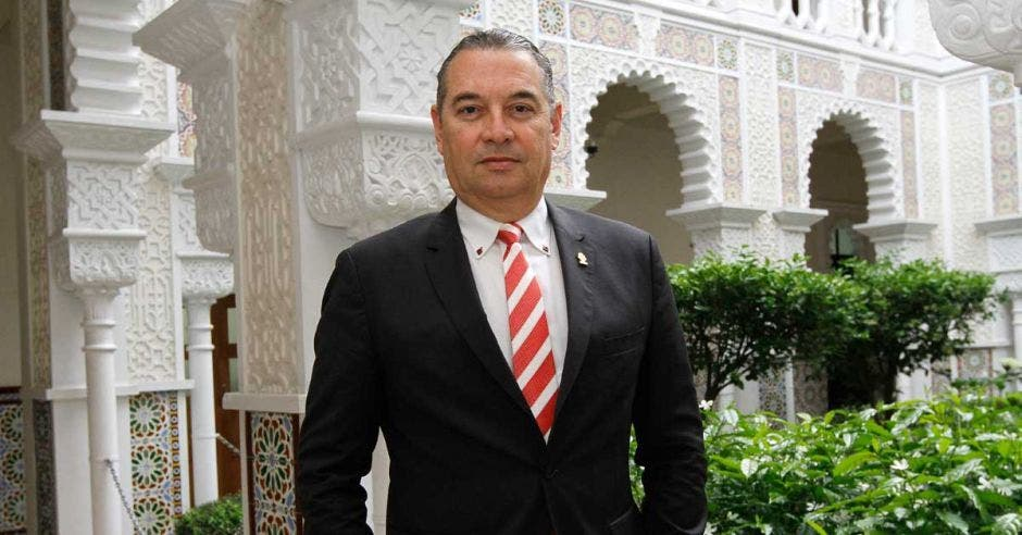 Roberto Thompson. diputado de Liberación. Archivo/La República.
