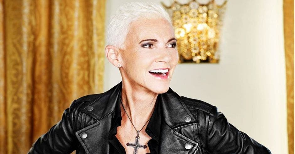 Marie Fredriksson, vocalista del dúo sueco Roxette