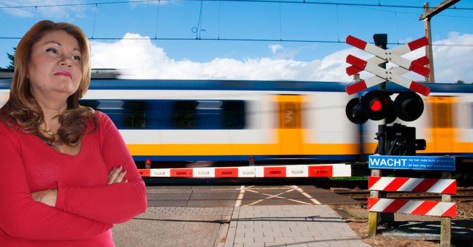 La inversión total del proyecto asciende a $10 millones y los recursos son aportados por el Consejo de Seguridad Vial, manifestó Elizabeth Briceño, presidenta ejecutiva del Instituto Costarricense de Ferrocarriles. Cortesía/La República.