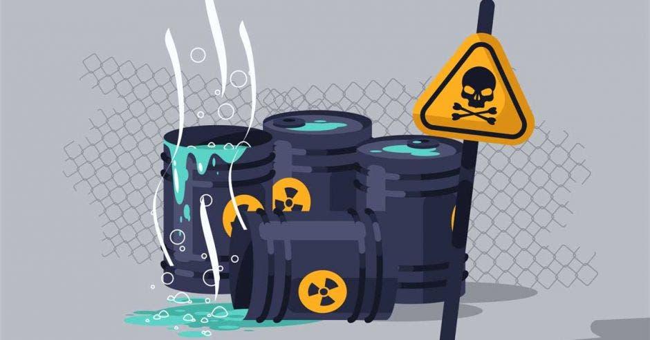 Imagen de residuos químicos