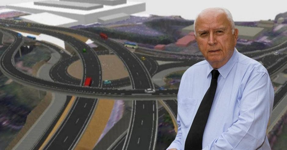 Rodolfo Méndez, ministro de Obras Públicas y Transportes. Archivo/La República.