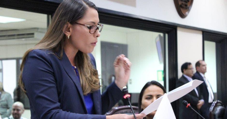 Ivonne Acuña, diputada de Nueva República. Archivo/La República.