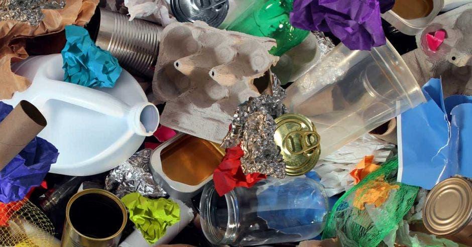 un conjunto de residuos valorizables