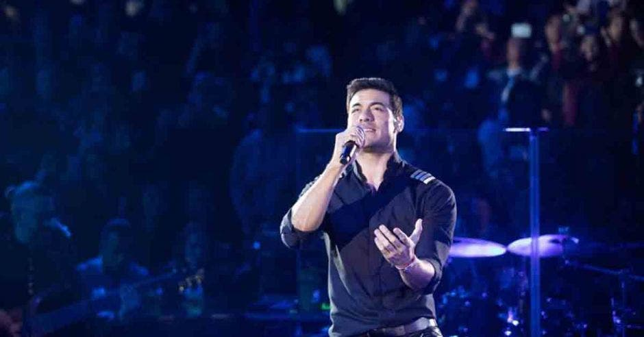 Cantante Carlos Rivera
