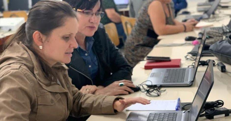 La iniciativa forma parte del Programa Nacional de Informática Educativa del Ministerio de Educación y la Fundación Omar Dengo. Archivo/La República