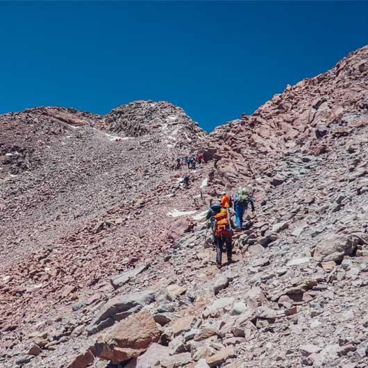 piedras en montaña