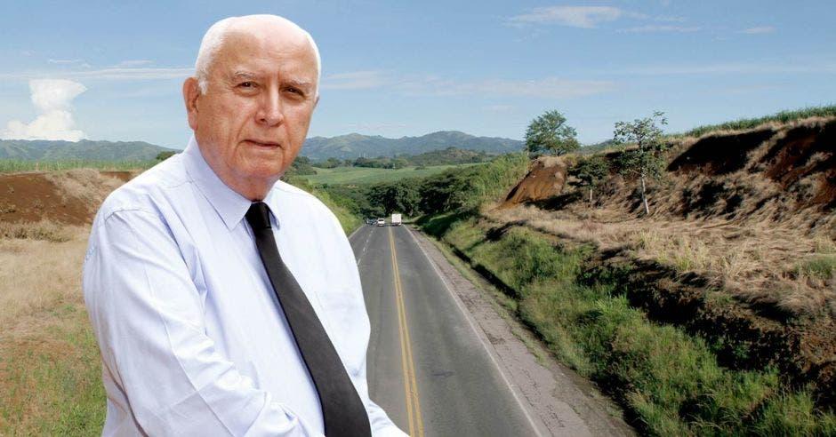 Rodolfo Méndez, ministro de Obras Públicas y Transportes, ha hecho lo posible por hacer más eficiente el sector de infraestructura; sin embargo, se ha encontrado nudos que no ha podido desatar. Cortesía/La República.