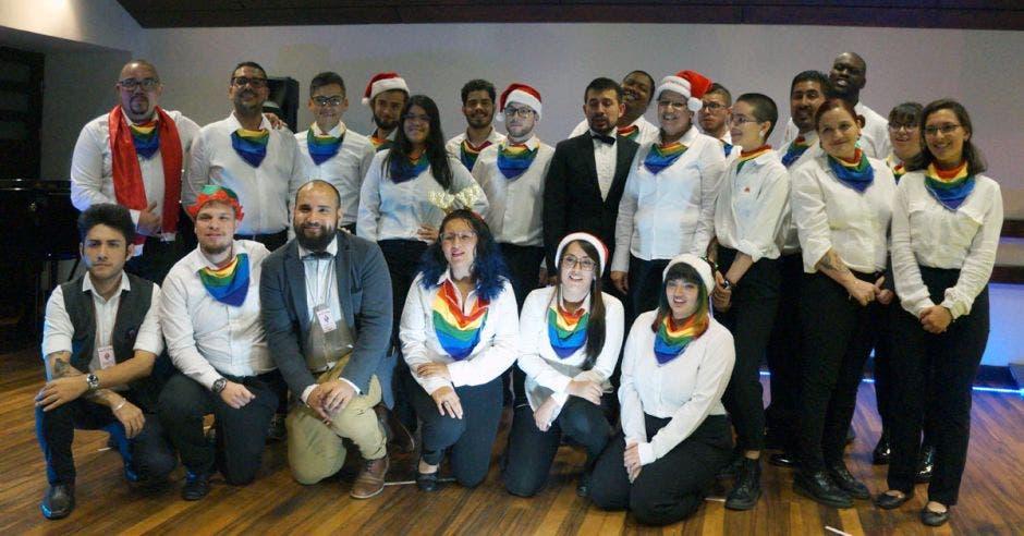 Foto grupal de Iridis Chorus