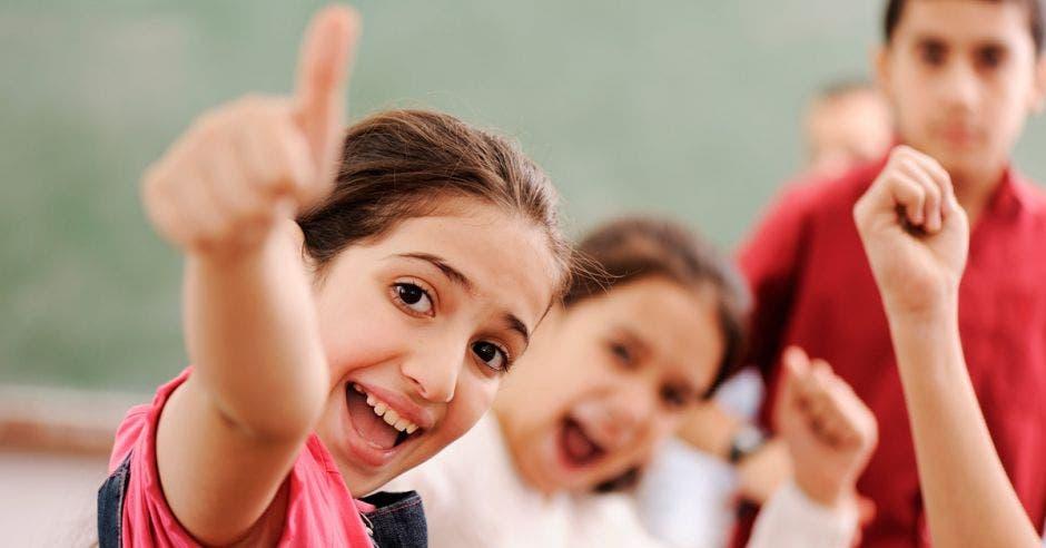 Niños en clases