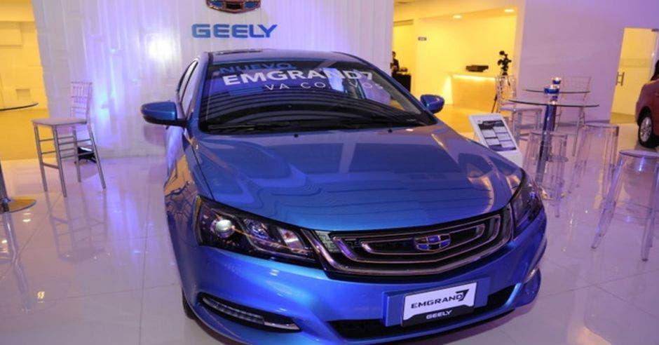 Nuevo carro de GEELY