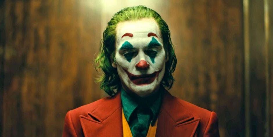 Actor Joaquin Phoenix en el papel del Joker