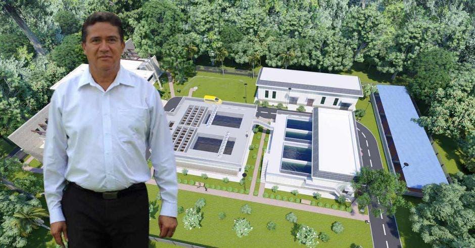 El acercamiento entre el cantón de Cañas con el Gobierno de China facilitó la construcción del acueducto en esa comunidad, reconoció Luis Fernando Mendoza, alcalde de la comunidad. Richard Blaser / La República