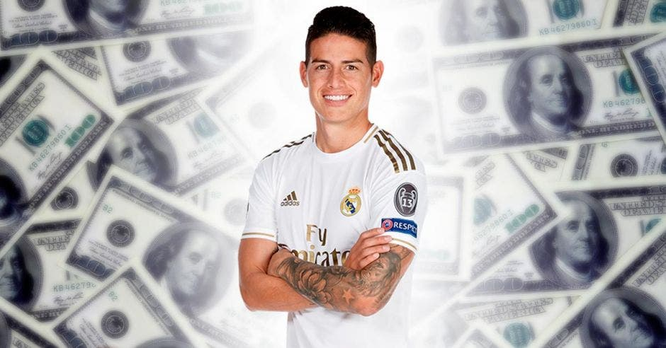 James Rodríguez se ganó 150 mil euros en muy pocos minutos