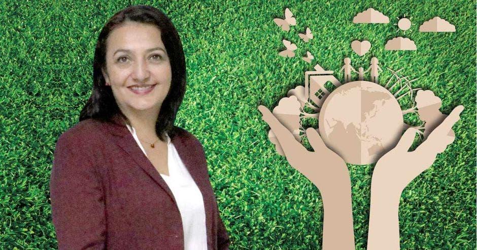 sostenibilidad, hogar azul, ambiente