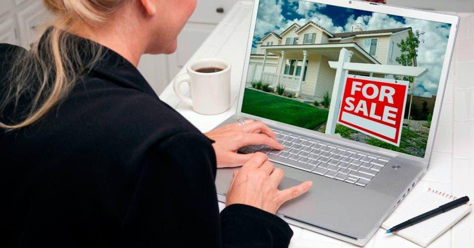 Venta de propiedades en línea