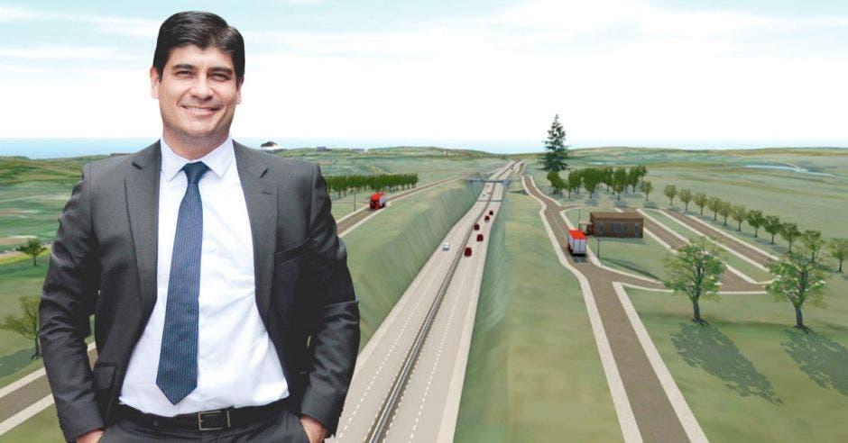 La ampliación de la ruta 27 implica un diseño de avanzada para corregir los defectos que presentó el plano original. Cortesía / La República