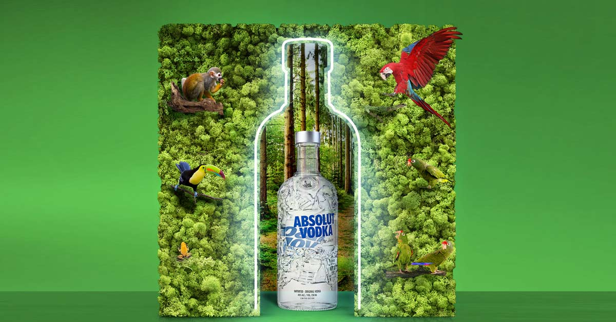 Foto de botella de absolut