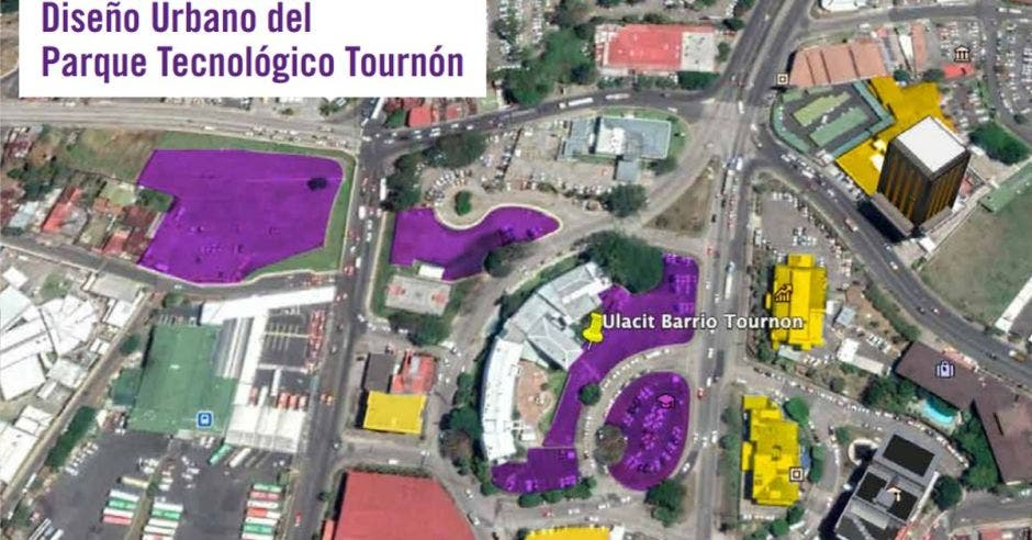 Mapa del Parque Empresarial