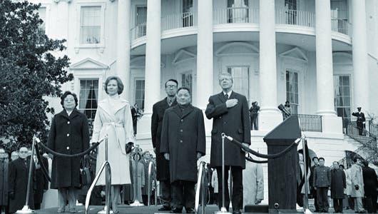 Deng Xiaoping y Jimmy Carter