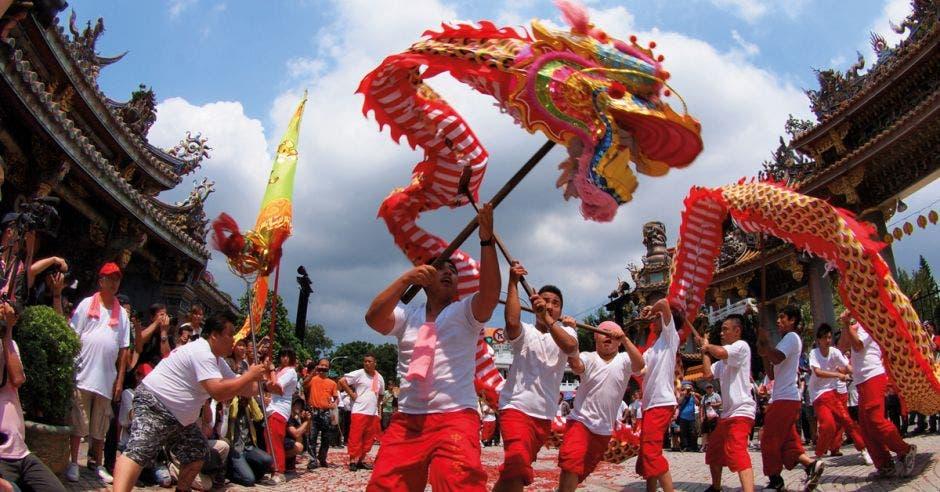 Celebración del Ano Nuevo Chino