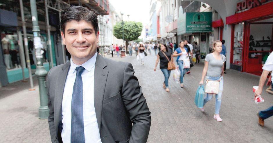 Carlos Alvarado presidente de Costa Rica