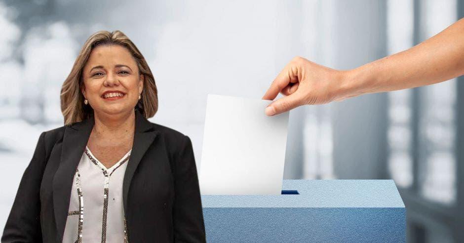 """""""Este día es muy importante para todos los costarricenses"""", dijo Karen Porras, directora ejecutiva de la Unión de Gobiernos Locales. Cortesía/La República."""
