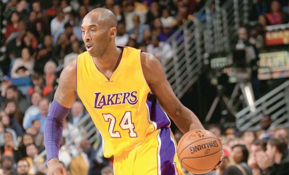 La ex estrella de la NBA y de los Lakers de Los  Ángeles, Kobe Bryant. Archivo/La República.
