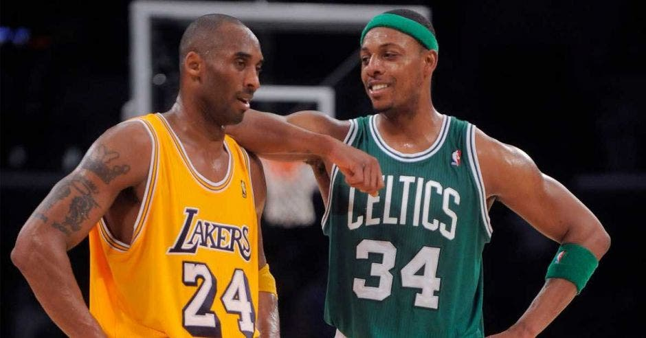 kobe bryant y paul pierce