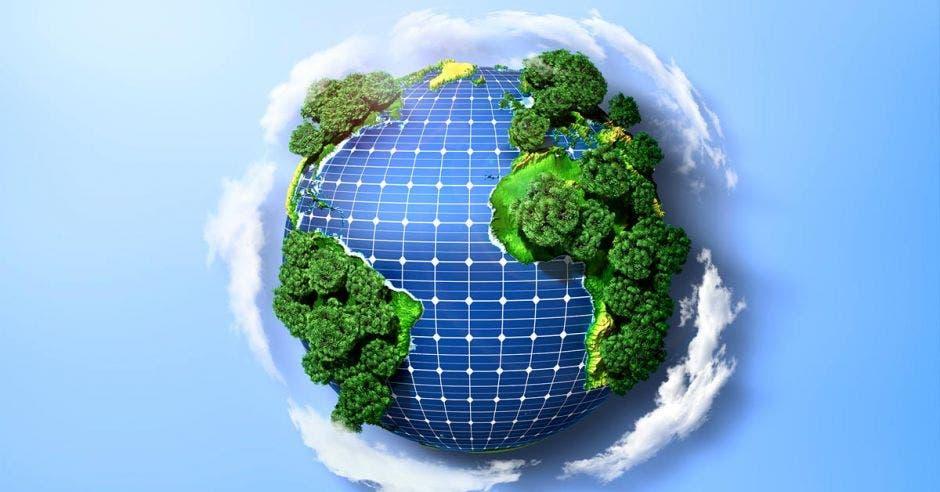 Por su ubicación geográfica, Costa Rica tiene una situación privilegiada para la producción de la energía solar. Shutterstock/La República.