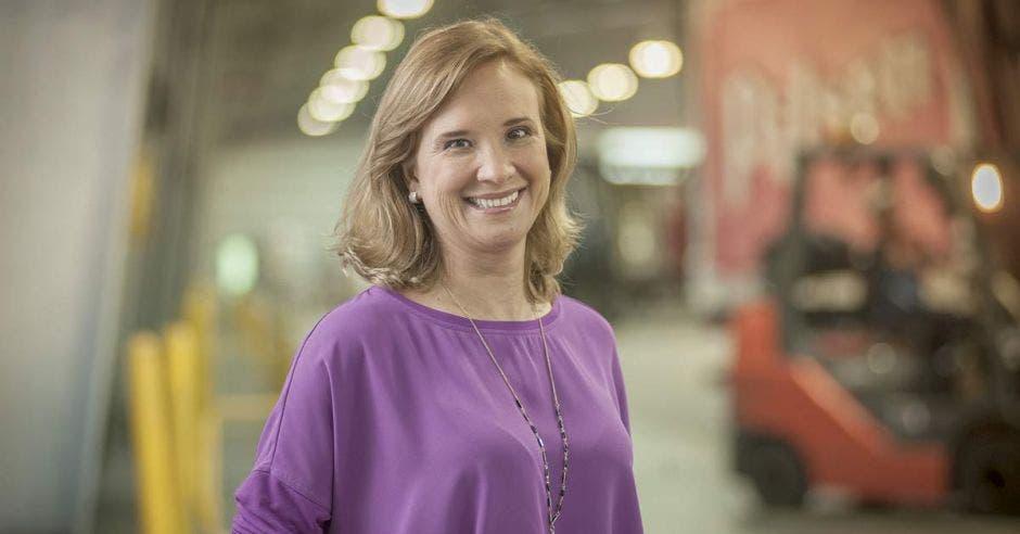 Gisela Sánchez es la nueva presidenta de AmCham. Archivo/La República.